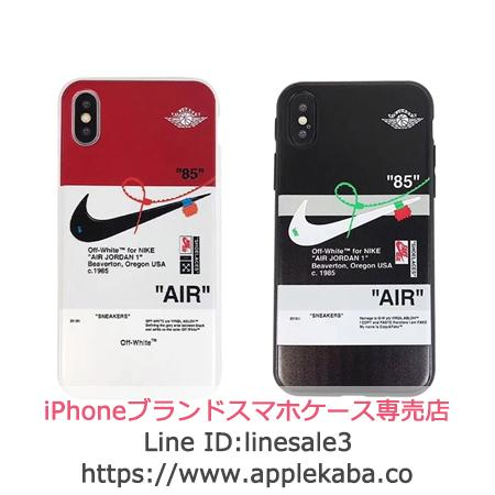 NIKE OFF WHITE iPhoneXsケース