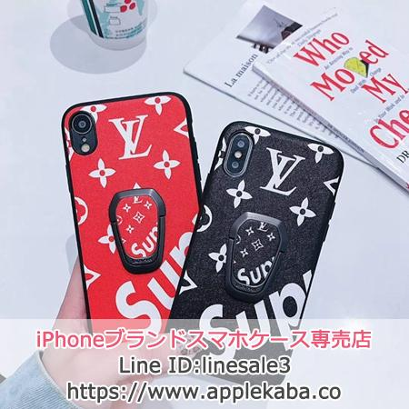 supreme&lv iPhone Xs Max ケース