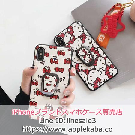 iPhone Xr  Hello Kitty ケース