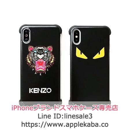 ケンゾー FENDI iPhone XS MAX ケース