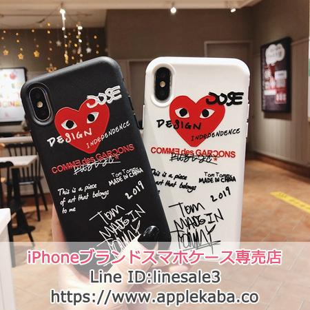 CDG PlAY iPhonex ケース