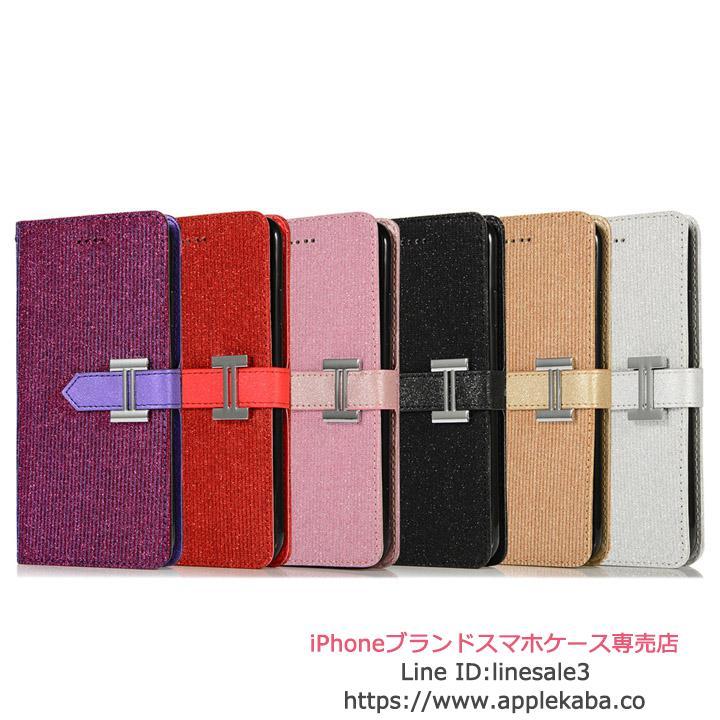 iphoneXケース エルメス 手帳型