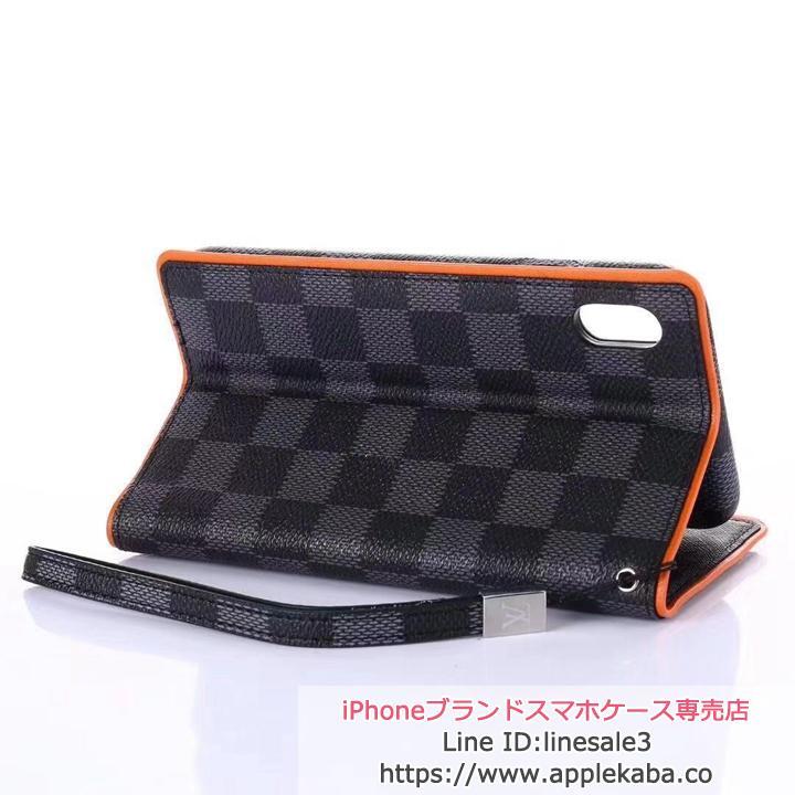 lvルイヴィトン iphonexs max手帳ケース レザー製